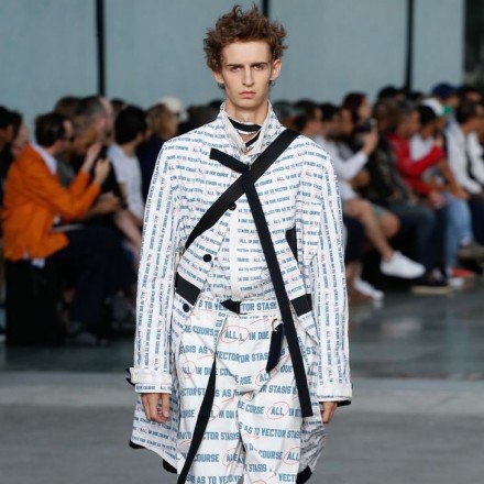 Paris Fashion Week Men's SS18 – SACAI