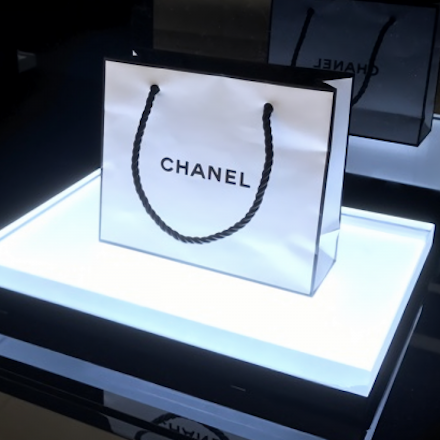 World first Chanel lipstick vending machine