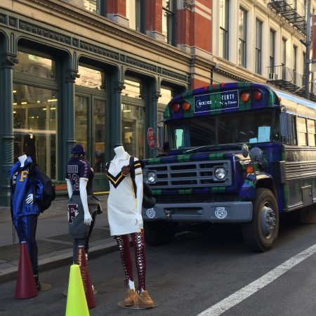 Fenty Pop-up Bus is in session now