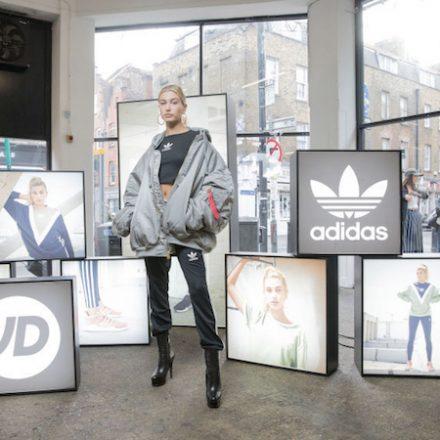 Hailey Baldwin curates Adidas LFW show
