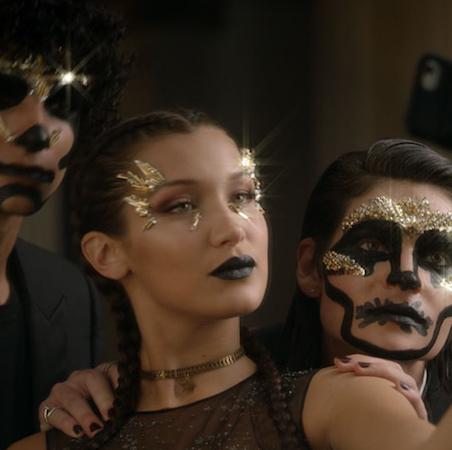Halloween Makeup by Dior x Bella Hadid