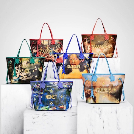 Louis Vuitton Masters II – A collaboration with Jeff Koons