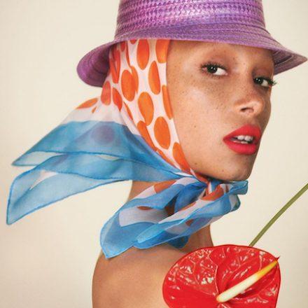 Adwoa Aboah, New Face of Marc Jacobs Beauty