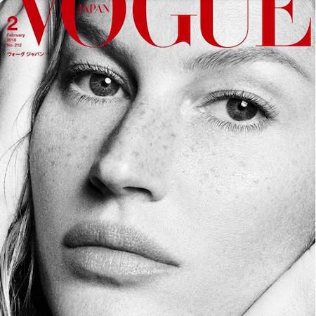 Gisele covers Vogue Japan