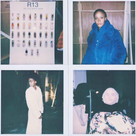 NYFW FW18 – R13 Backstage