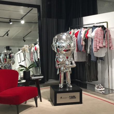 Karl Lagerfeld's First U.S. Store opens today in Soho