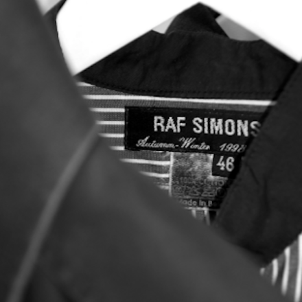 Raf Simons archive store opens in Tokyo Today