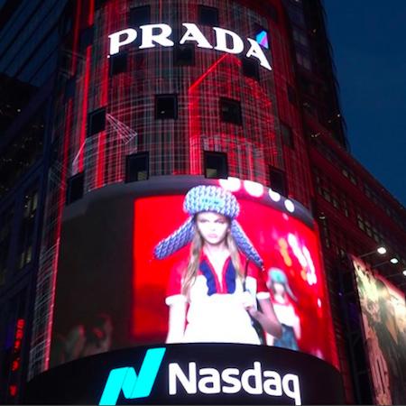 Prada – Resort 2019 Fashion Show in NYC