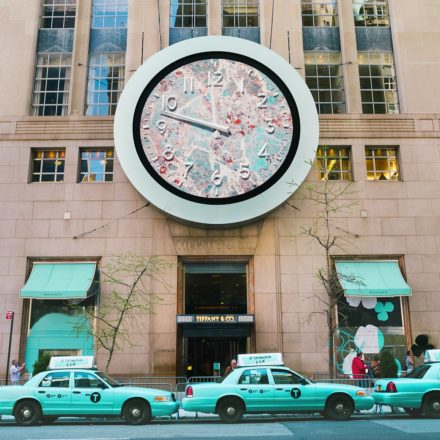 Tiffany Blue in NYC