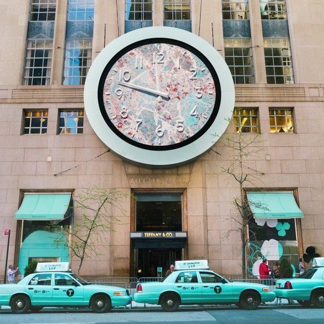 Tiffany Blue in NYC