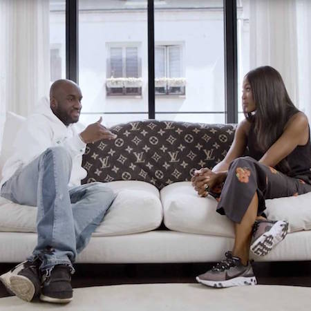Naomi Campbell Meets Virgil Abloh