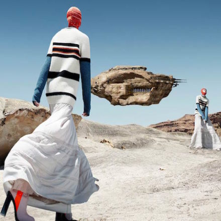 Calvin Klein's Out of this World Campaign