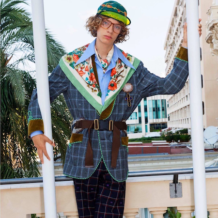 GUCCI MEN'S CRUISE 2019 LOOKBOOK