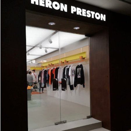 Heron Preston's First Store in Hong Kong