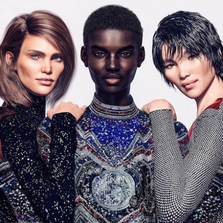CGI models for BALMAIN campaign