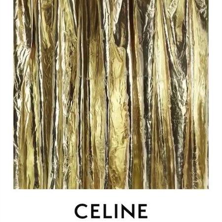 New CELINE logo by Hedi Slimane