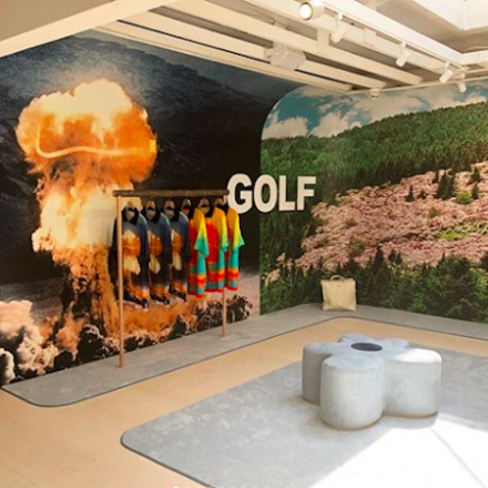 GOLF flagship resigned by Tyler, the creator