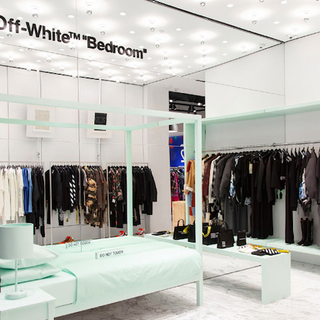 Off-White™ shop-in-shop in Hirshleifers