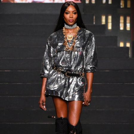 MOSCHINO x H&M exclusive fashion show in New York