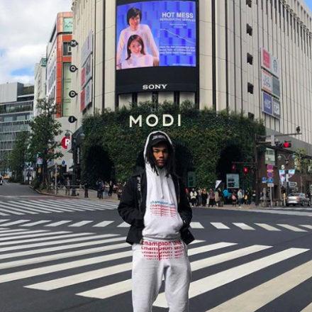 LUKA SABBAT's Tokyo Pop Up