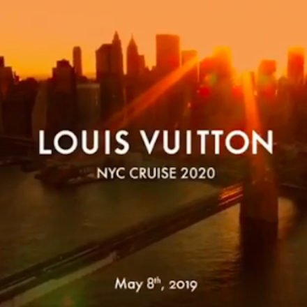 Louis Vuitton to present its 2020 cruise show in New York