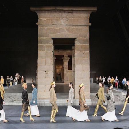 Chanel Métiers d'art 2018/19 in New York