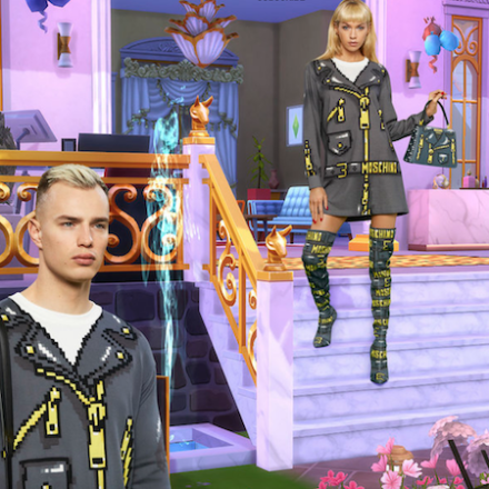 Moschino x The Sims Capsule Collection