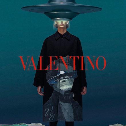 Valentino x UNDERCOVER FW19 campaign