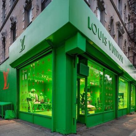 Louis Vuitton Opens Pop-up in NYC