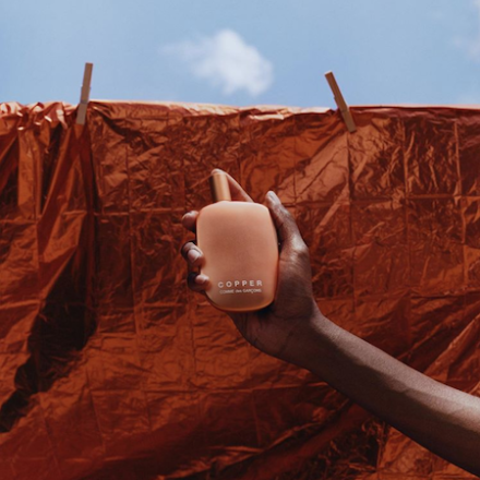 CDG COPPER campaign directed by Tyler Mitchell
