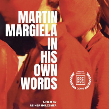 new Martin Margiela documentary at DOC NYC Fest
