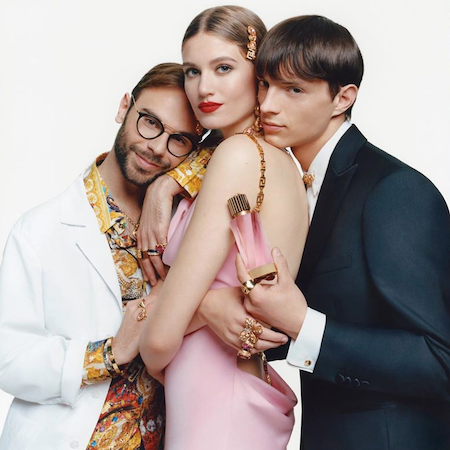 Versace's six new upscale unisex scents