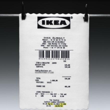 "Virgil Abloh x IKEA ""MARKERAD"""