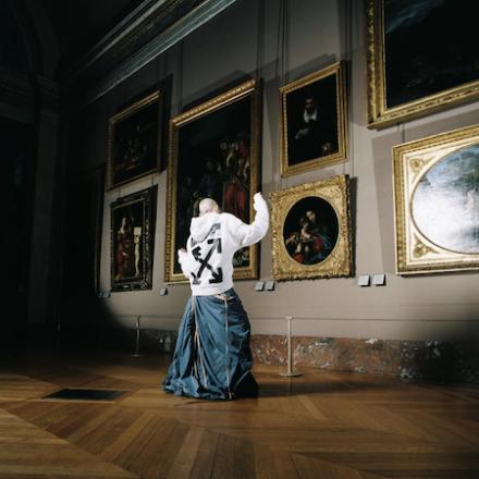 Virgil Abloh x Louvre Museum