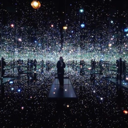 Yayoi Kusama's Infinity Mirrored Room at #TheBroadFromHome