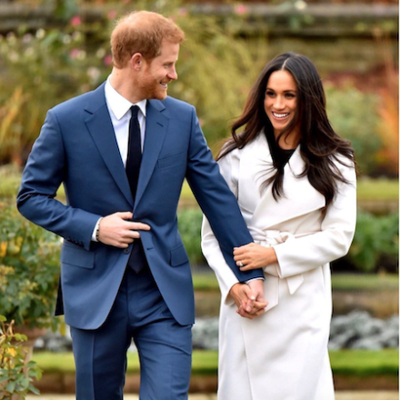 Prince Harry and Meghan are 'stepping back' from the royal family