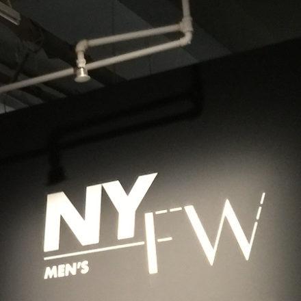 NYFWM FW20 Schedule