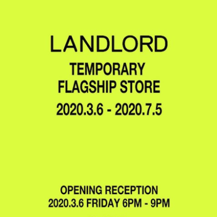 LANDLORD TEMPORARY FLAGSHIP OPENS TOMORROW
