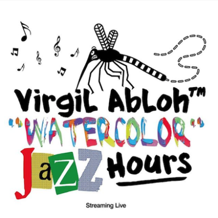 "Virgil Abloh debuts  ""Watercolor"" The Jazz Hours show tomorrow"