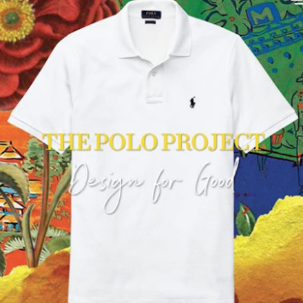 Design Ralph Lauren Polo Shirt in support of COVID-19 relief.