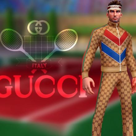 Gucci x Tennis Clash