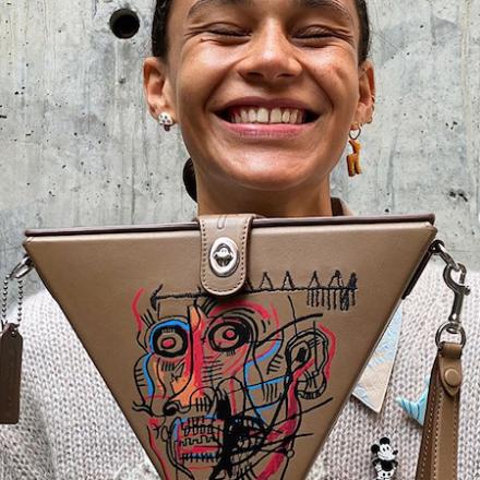 Coach x Basquiat
