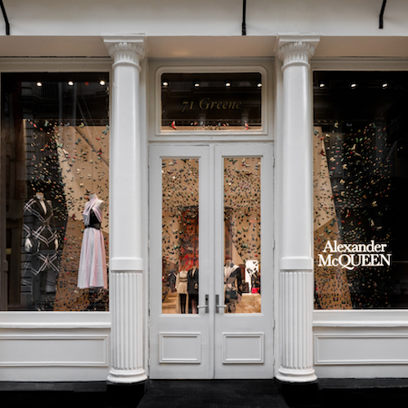 Alexander McQueen's first-ever flagship in Soho