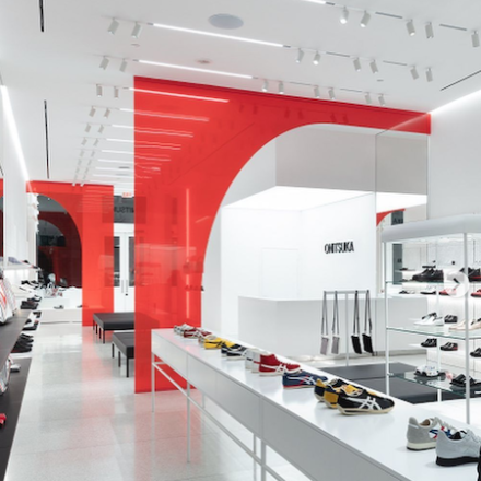 Onitsuka concept store in NY