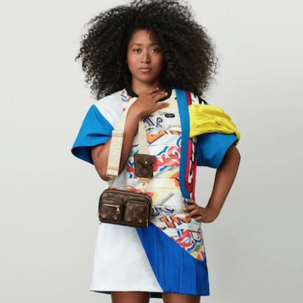 Naomi Osaka for Louis Vuitton