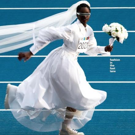 Dazed Summer 2021 – Olympic Games-inspired cover