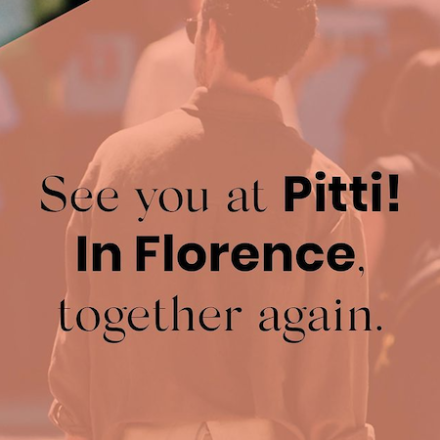 PITTI UOMO returns in Physical format