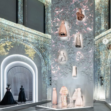 Dior exhibition at Brooklyn Museum