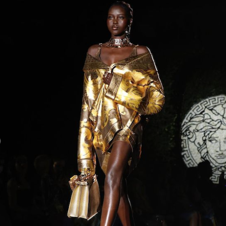 MFW SS22 – THE SWAP: VERSACE AND FENDI
